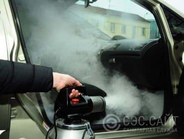 Фото дезодорации автомобиля